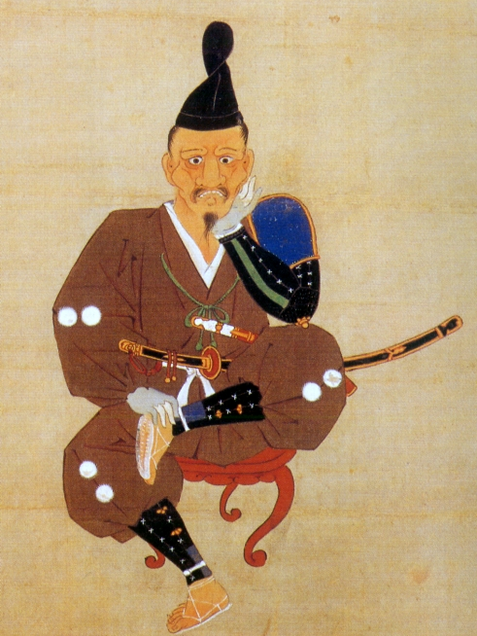 徳川家康三方ヶ原戦役画像(徳川美術館所蔵)顰像(しかみ像)